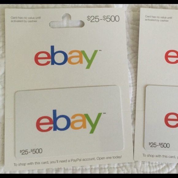 Ebay Other Gift Card 2 Poshmark